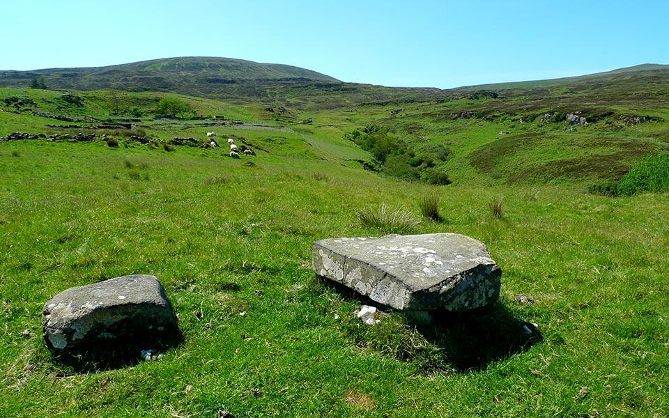 Manner Stone at Galtrigill, Dunvegan, Isle of Skye