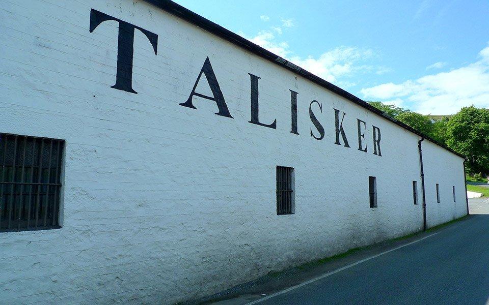 Talisker Whisky Distillery, Carbost, Isle of Skye