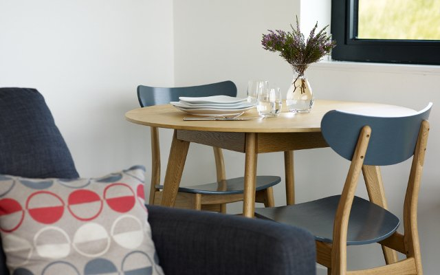 Dining at An Airigh self catering Isle of Skye