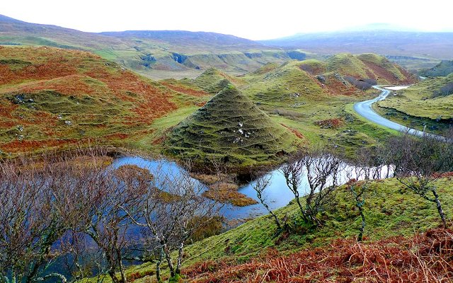 Fairy Glen, Uig, Isle of Skye
