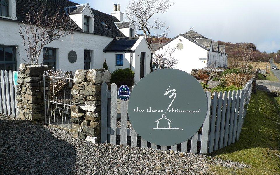 The Three Chimneys Isle of Skye